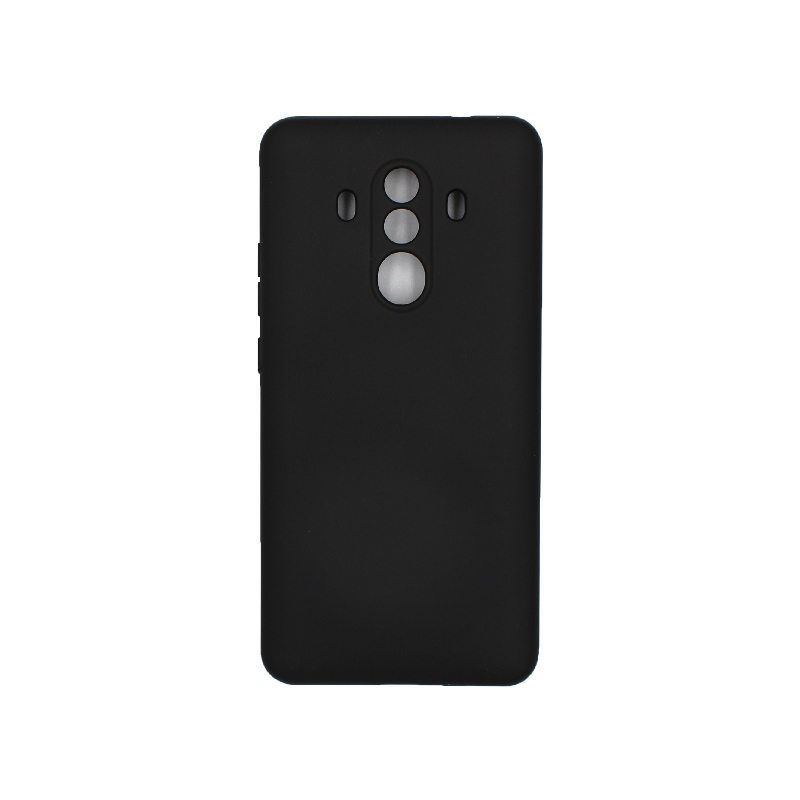 Θήκη Huawei Mate 10 Pro Silky and Soft Touch Silicone μαύρο 1