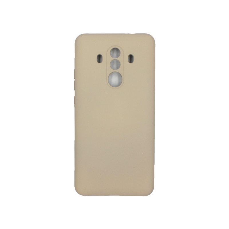 Θήκη Huawei Mate 10 Pro Silky and Soft Touch Silicone μπεζ 1