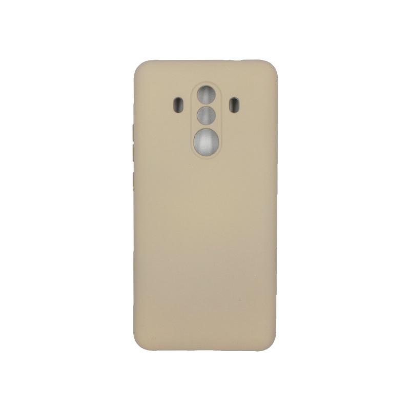Θήκη Huawei Mate 10 Pro Silky and Soft Touch Silicone μπεζ 1