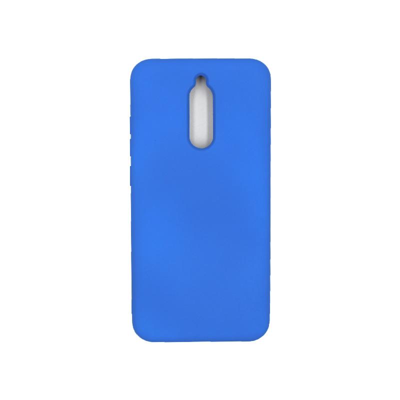Θήκη Xiaomi Redmi 8 Silky and Soft Touch Silicone μπλε 1