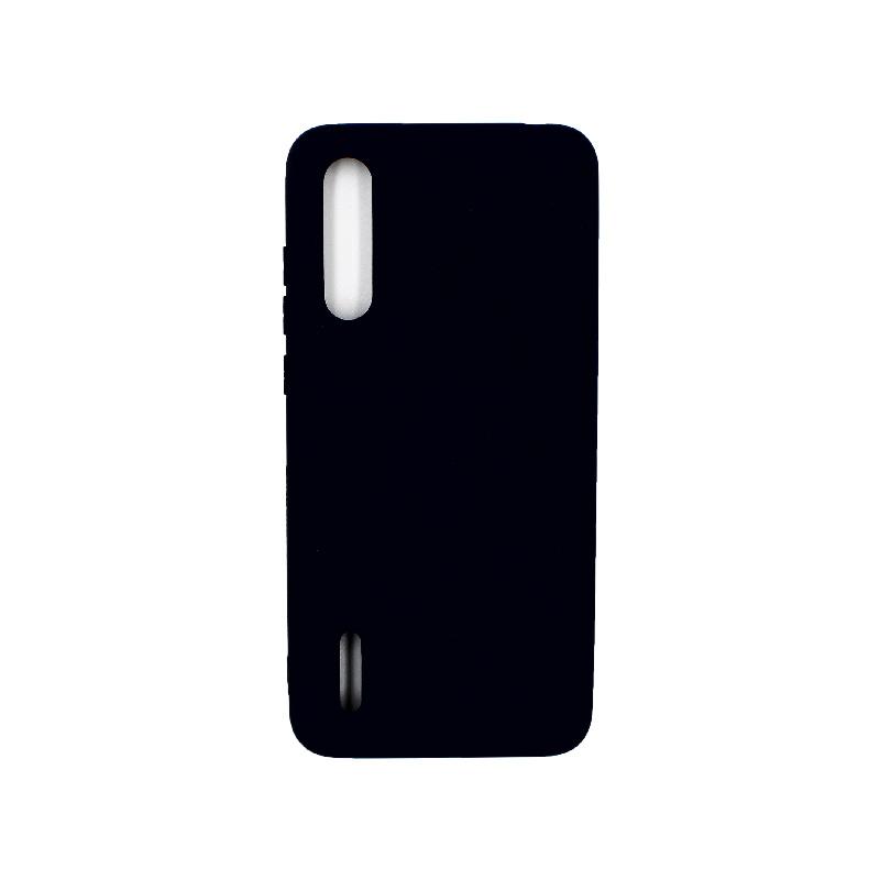 Θήκη Xiaomi Mi 9 Lite / CC9 / A3 Lite Silky and Soft Touch Silicone μπλε 1
