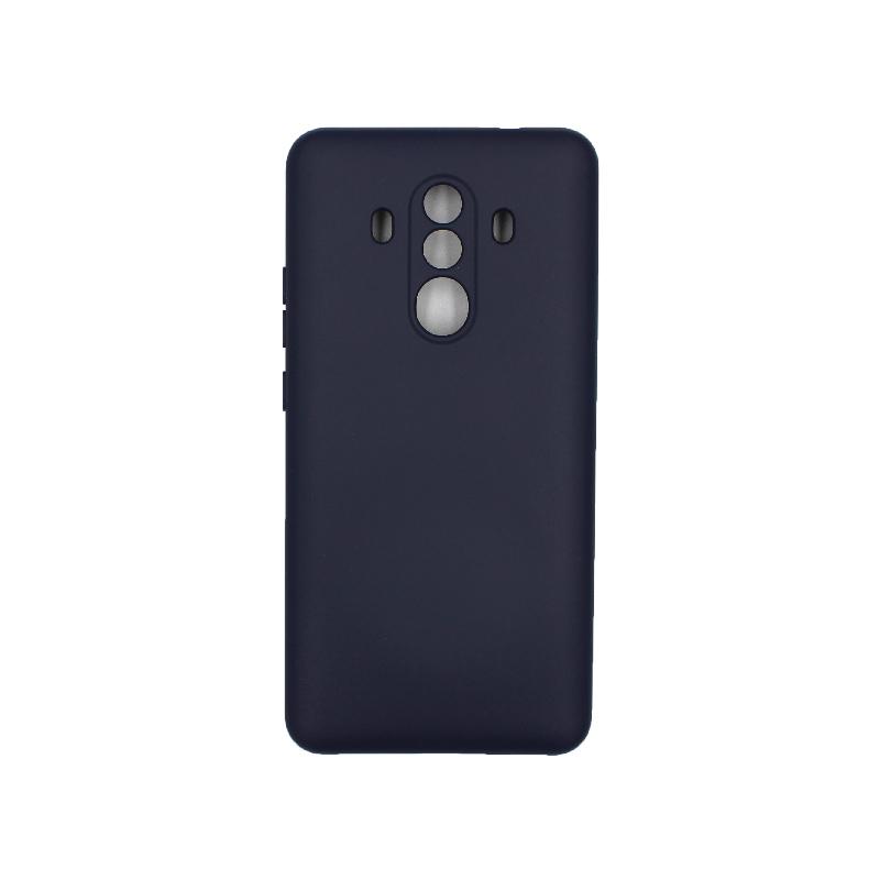 Θήκη Huawei Mate 10 Pro Silky and Soft Touch Silicone μπλε 1