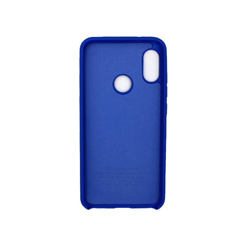 Θήκη Xiaomi Redmi Note 6 Pro Silky and Soft Touch Silicone μπλε 2