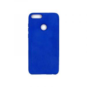 Θήκη Huawei P Smart Silky and Soft Touch Silicone μπλε 1