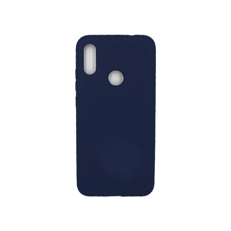 Θήκη Xiaomi Redmi Note 7 / 7 Pro Silky and Soft Touch Silicone σκούρο μπλε 1