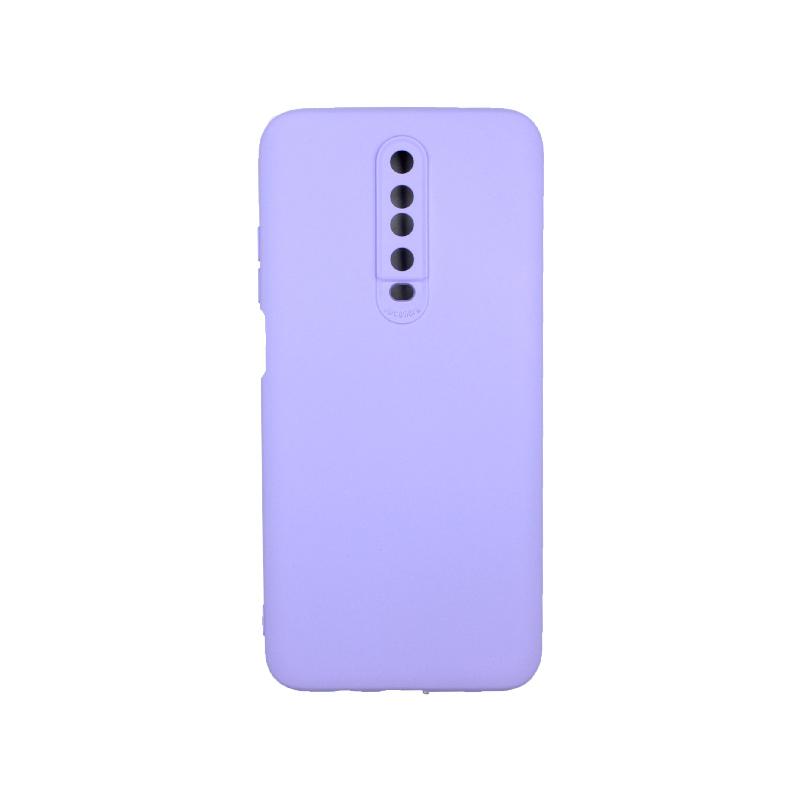Θήκη Xiaomi Redmi K30 / K30 5G silky and soft touch σιλικόνη μωβ 1