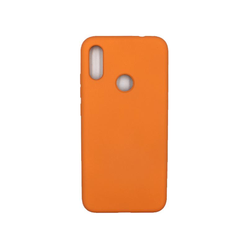 Θήκη Xiaomi Redmi Note 7 / 7 Pro Silky and Soft Touch Silicone πορτοκαλί 1