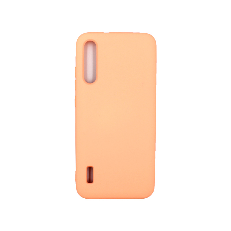 Θήκη Xiaomi Redmi A3 / CC9E Silky and Soft Touch Silicone πορτοκαλί 1