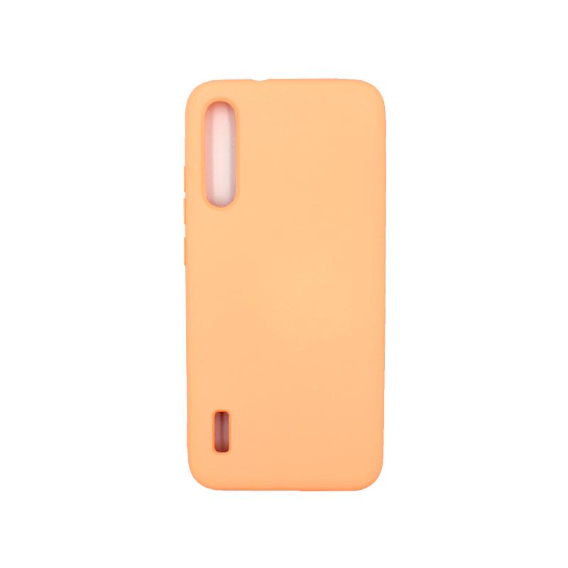 θήκη Xiaomi Mi 9 SE silky and soft touch πορτοκαλί 1