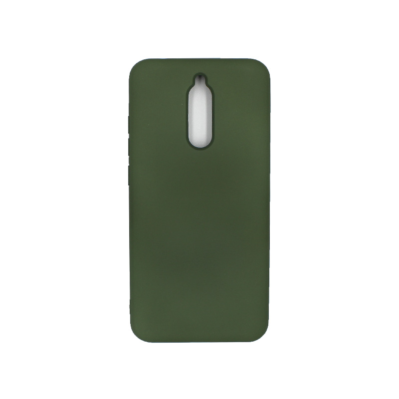 Θήκη Xiaomi Redmi 8 Silky and Soft Touch Silicone πράσινο 1