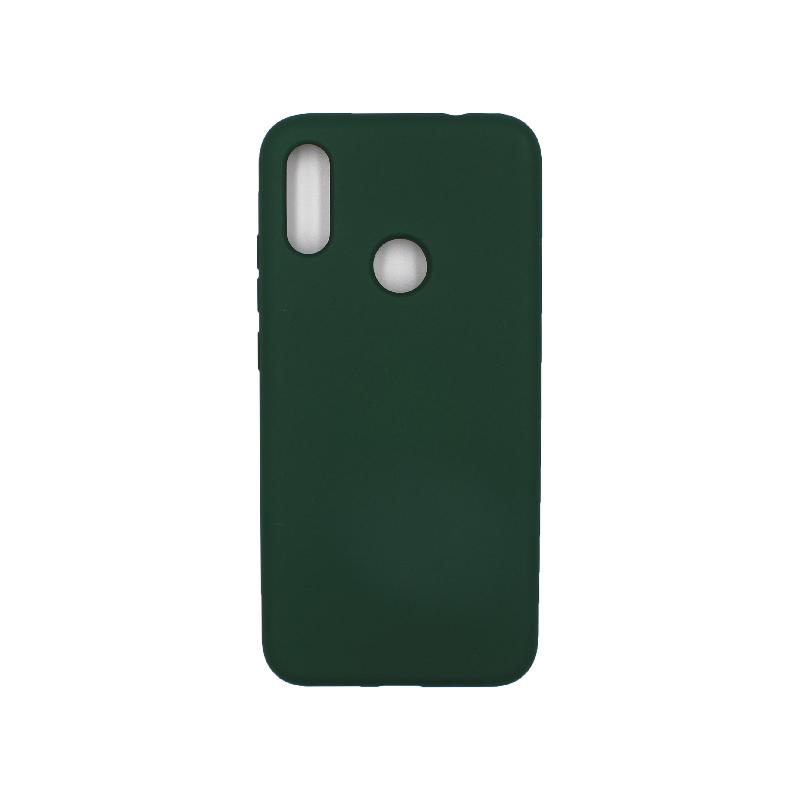 Θήκη Xiaomi Redmi Note 7 / 7 Pro Silky and Soft Touch Silicone πράσινο 1