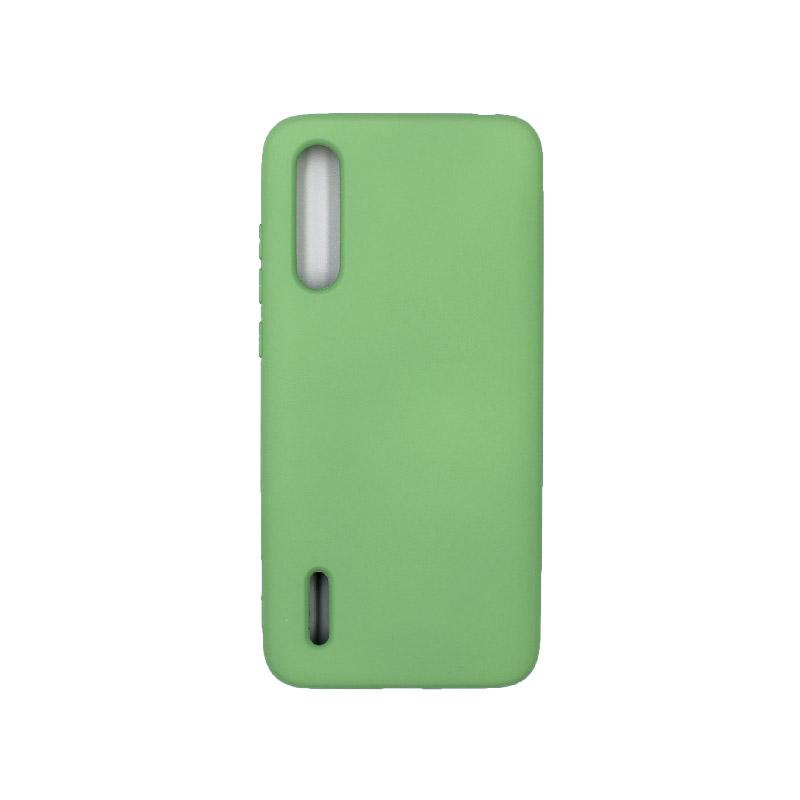 Θήκη Xiaomi Mi 9 Lite / CC9 / A3 Lite Silky and Soft Touch Silicone πράσινο 1