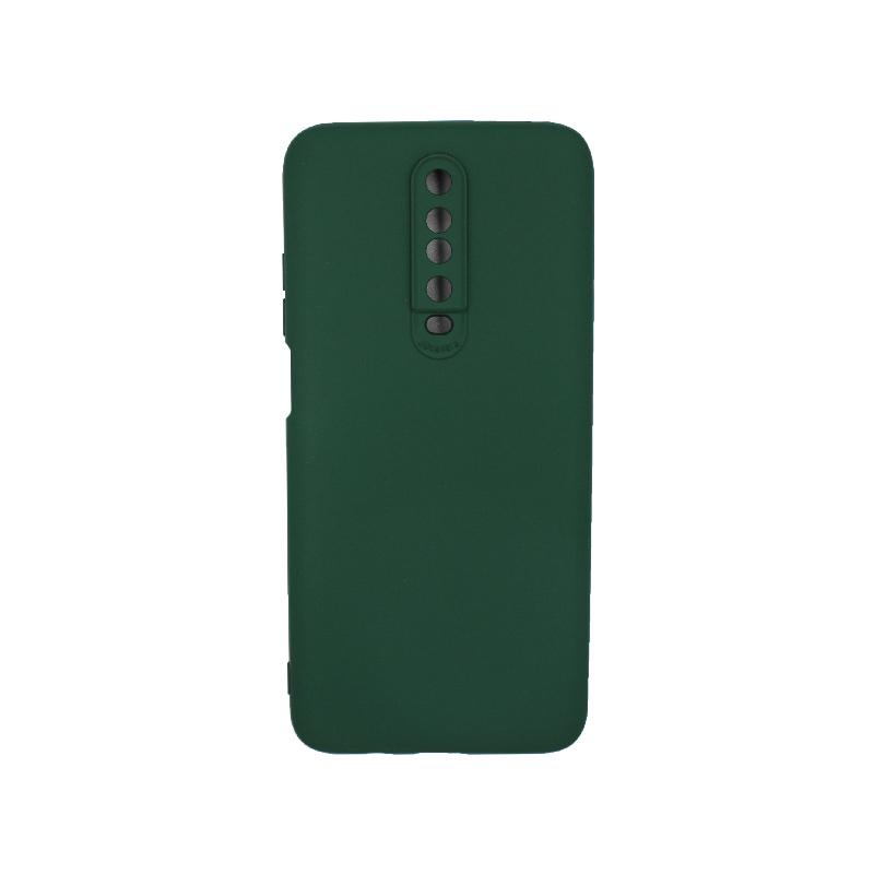 Θήκη Xiaomi Redmi K30 / K30 5G silky and soft touch σιλικόνη πράσινο 1