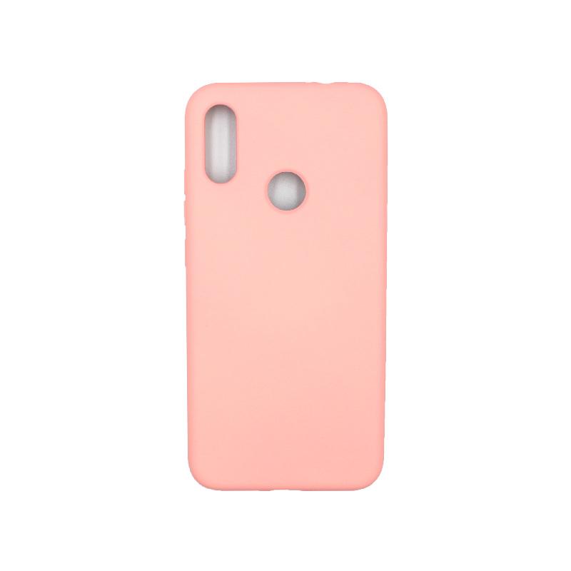 Θήκη Xiaomi Redmi Note 7 / 7 Pro Silky and Soft Touch Silicone ροζ 1