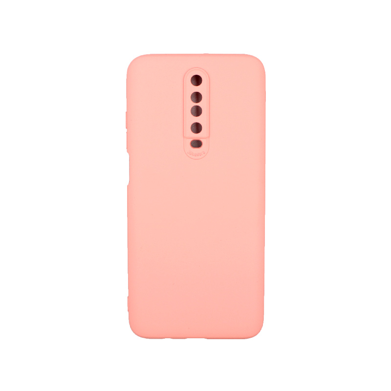 Θήκη Xiaomi Redmi K30 / K30 5G silky and soft touch σιλικόνη ροζ 1