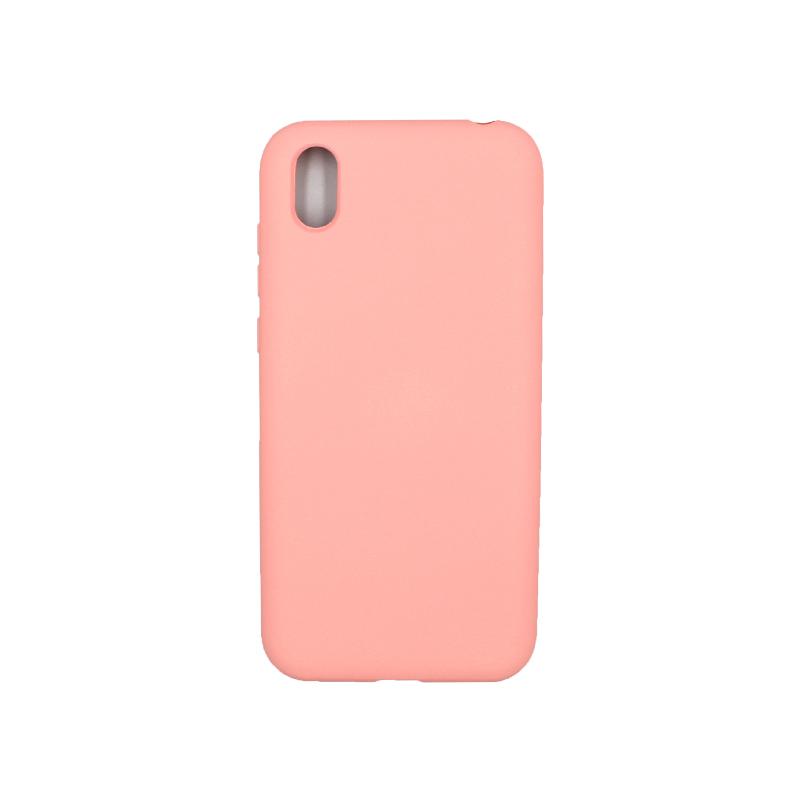 Θήκη Huawei Y5 2019 Silky and Soft Touch Silicone ροζ 1