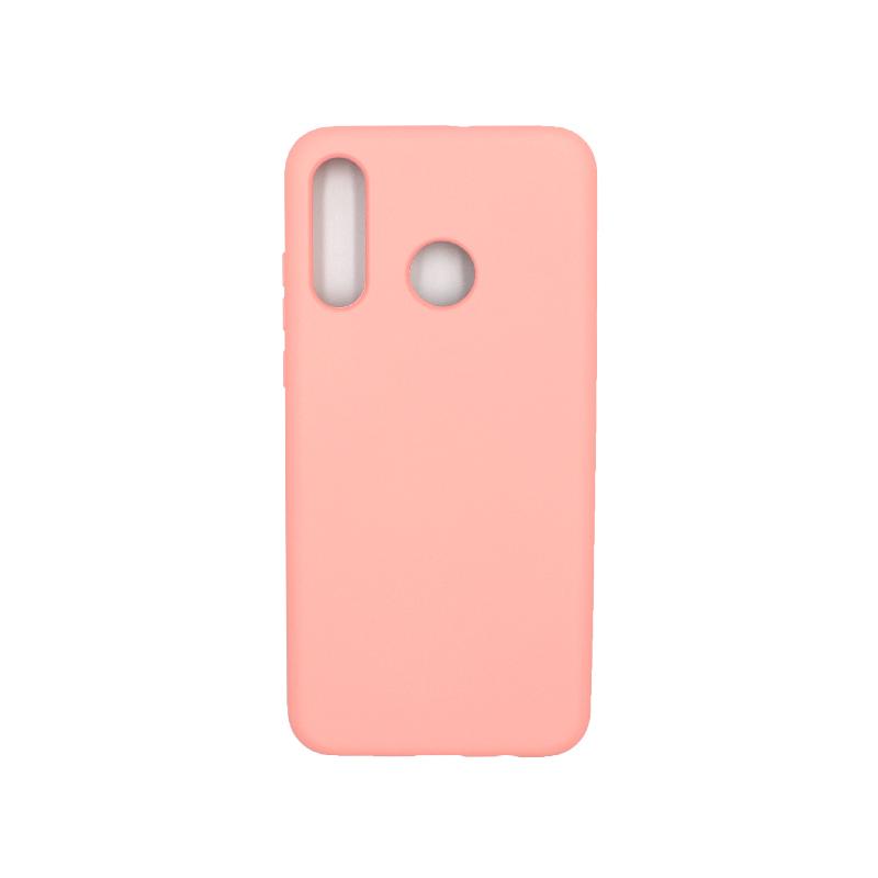 Θήκη Huawei P30 Lite Silky and Soft Touch Silicone ροζ 1