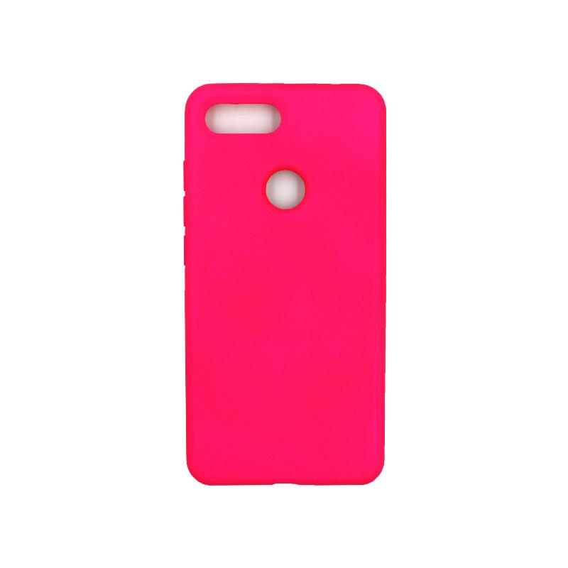 θήκη Xiaomi Mi 8 Lite silky and soft touch silicone φουξ 1