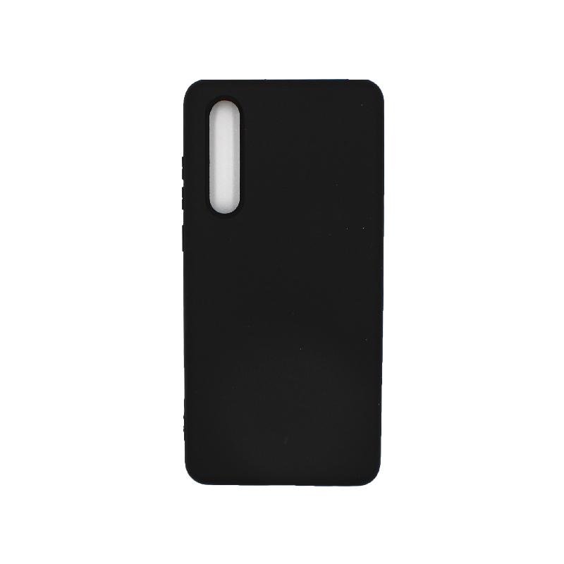 Θήκη Huawei P30 Silky and Soft Touch Silicone μαύρο 1