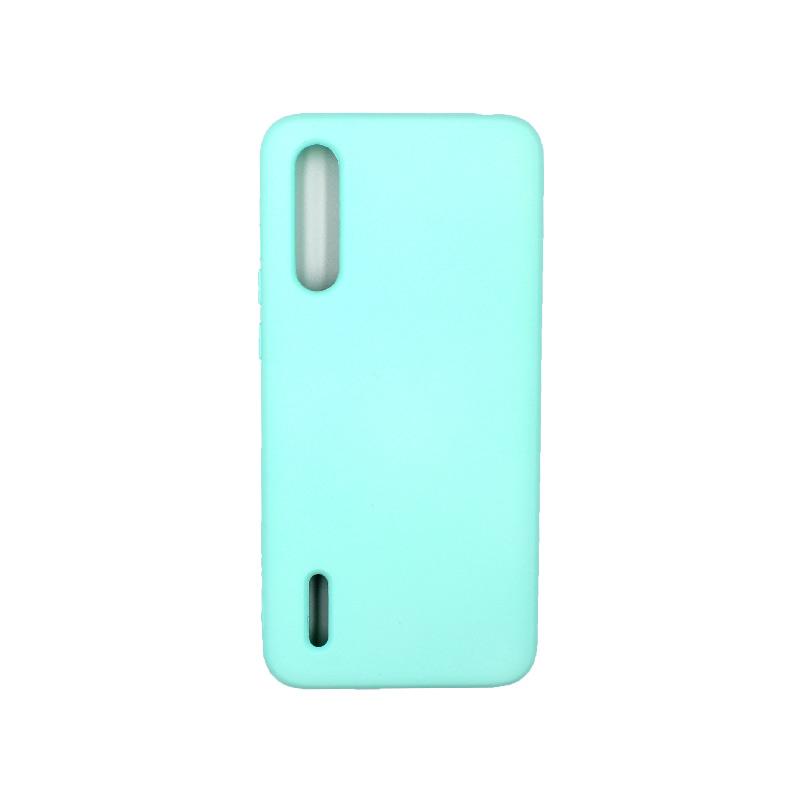 Θήκη Xiaomi Mi 9 Lite / CC9 / A3 Lite Silky and Soft Touch Silicone τιρκουάζ 1
