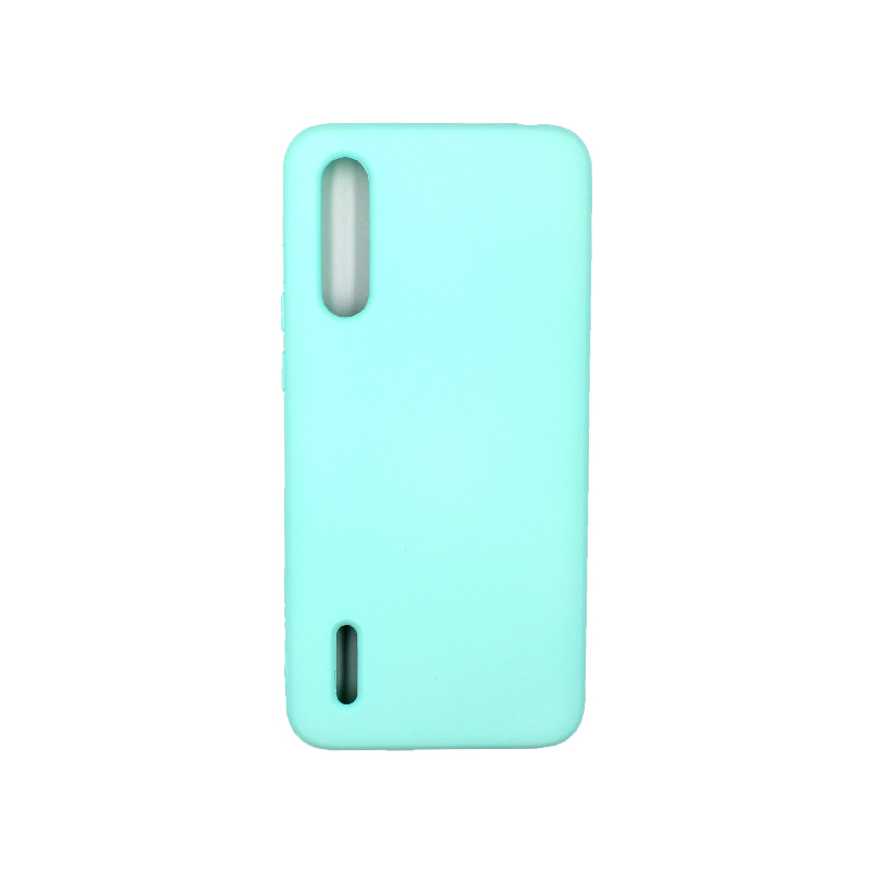 Θήκη Xiaomi Redmi A3 / CC9E Silky and Soft Touch Silicone τιρκουάζ 1