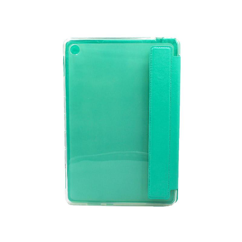 θήκη huawei tablet mediaPad M5 lite 10.1'' πλάτη σιλικόνη τιρκουαζ 2