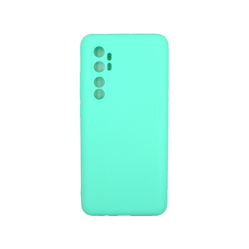 Θήκη Xiaomi Mi Note 10 Lite Σιλικόνη τιρκουάζ