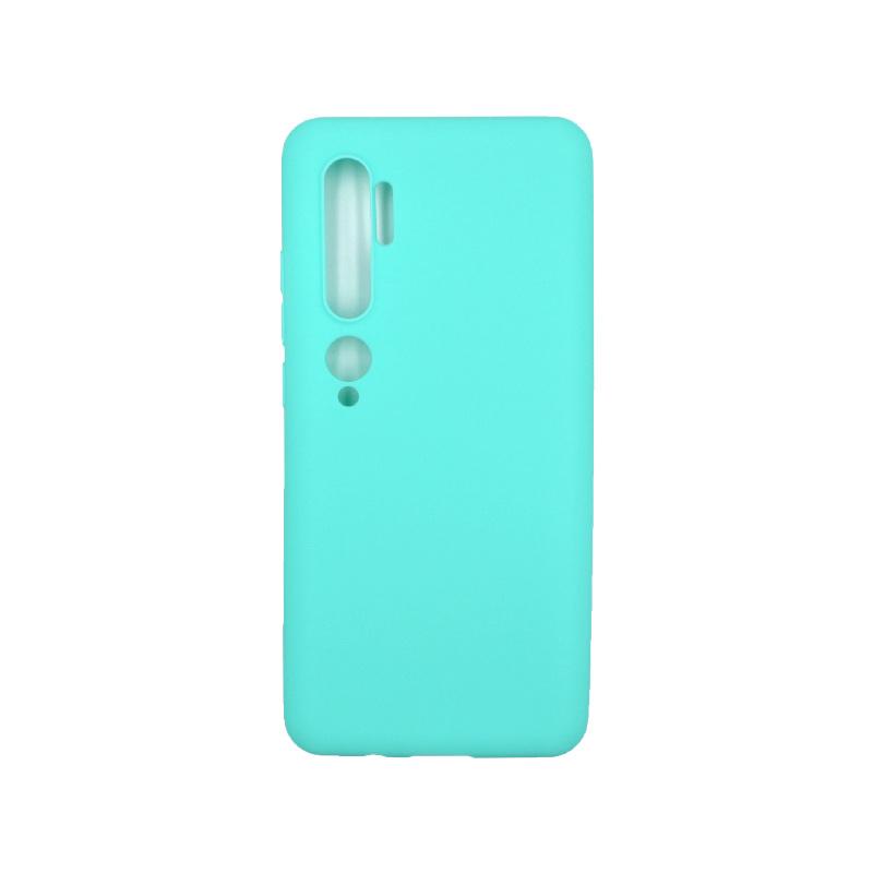Θήκη Xiaomi Mi Note 10 / Note 10 Pro / CC9 Pro Σιλικόνη τιρκουάζ
