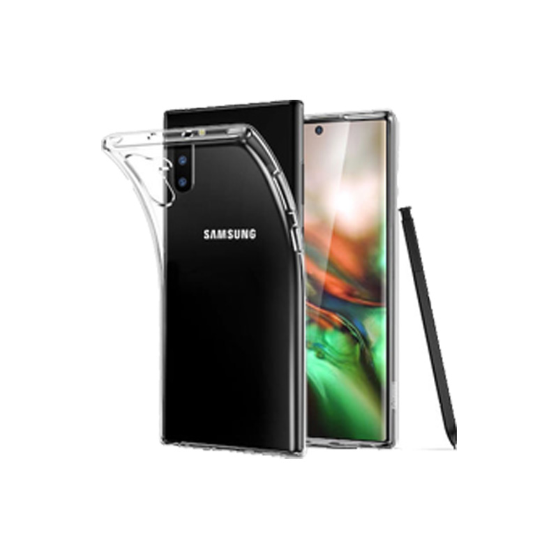 Θήκη Σιλικόνης 0.3mm Διάφανο Samsung Galaxy Note 10 3