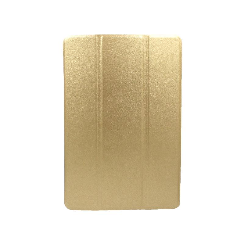 θήκη huawei tablet mediaPad M5 lite 10.1'' πλάτη σιλικόνη χρυσό 1