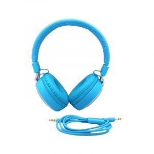 karler bass 380 ενσύρματα ακουστικά γαλάζιο 1