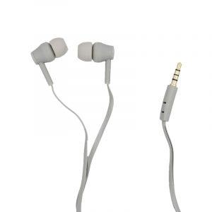 karler bass 401 ενσύρματα ακουστικά γκρι 1