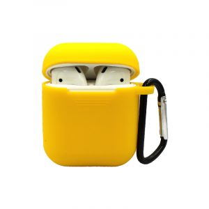 θήκη για airpods κίτρινο 1