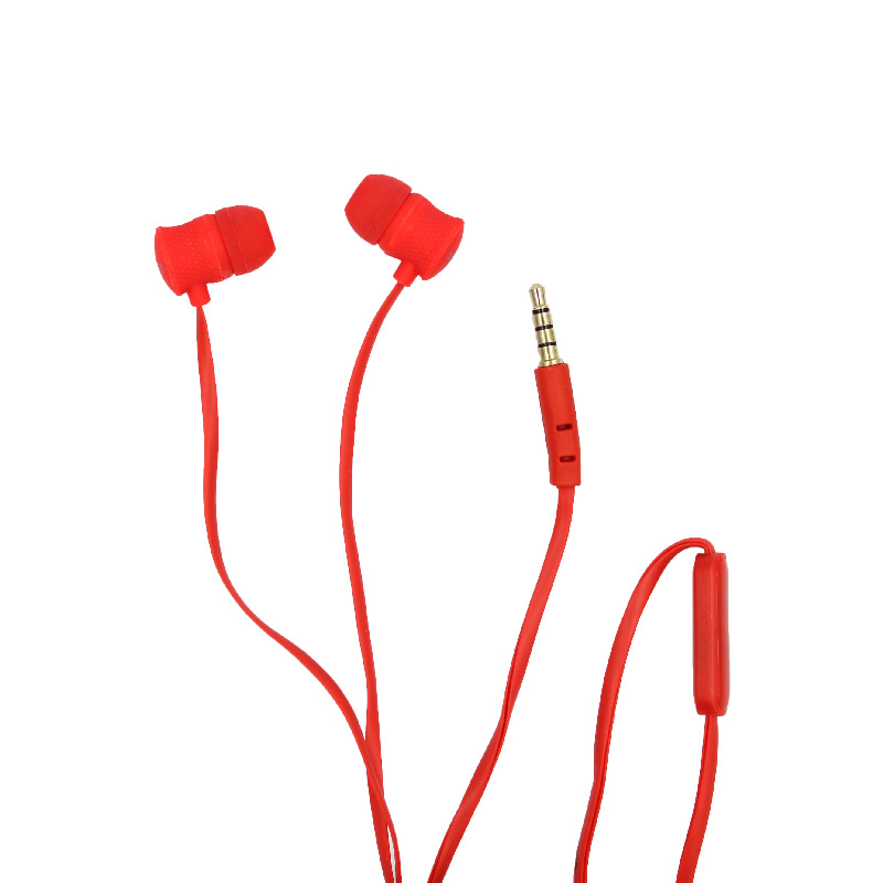 karler bass 402 ενσύρματα ακουστικά κόκκινο