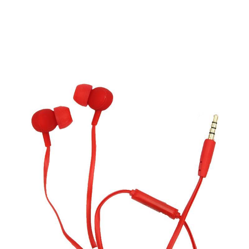 karler bass 203 ενσύρματα ακουστικά κόκκινο