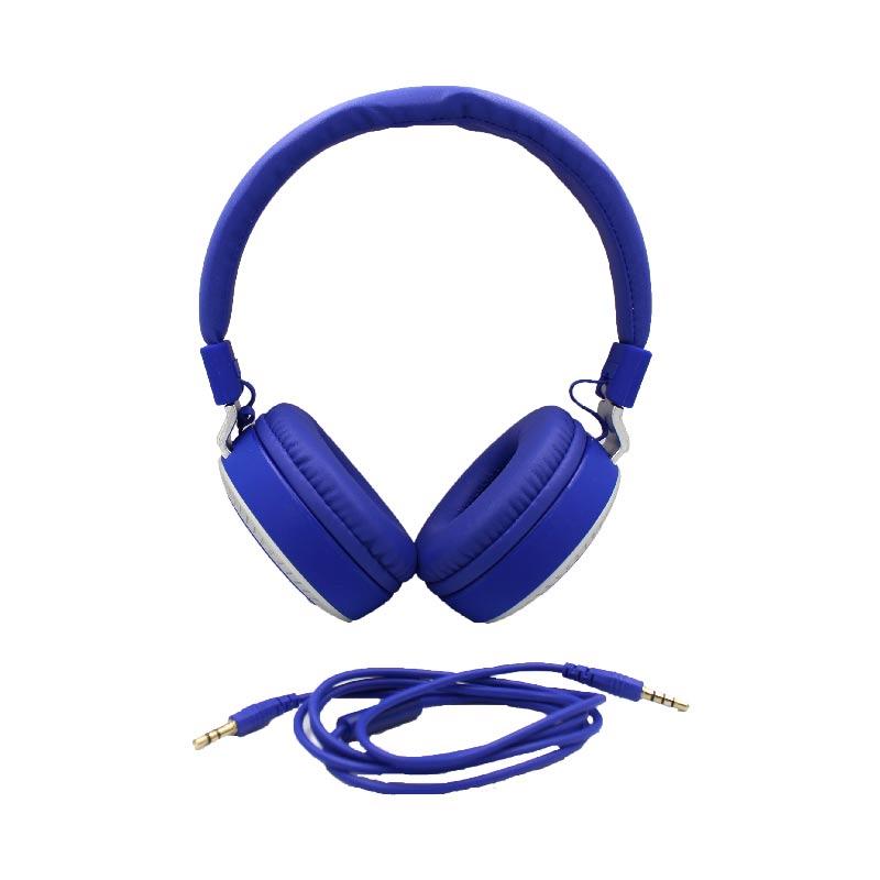 karler bass 380 ενσύρματα ακουστικά μπλε 1
