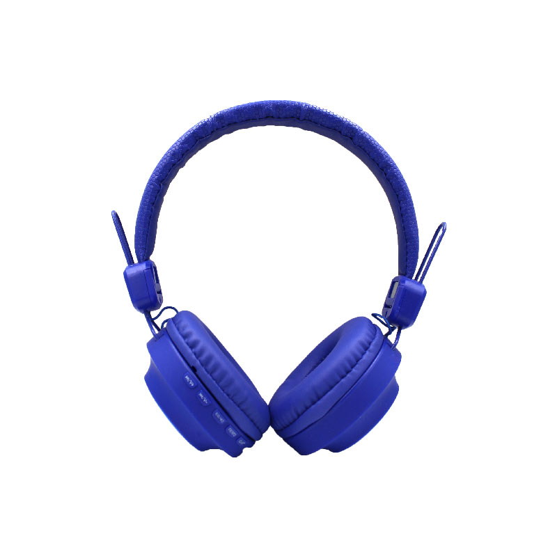 Karler Bass 008 ασύρματα ακουστικά μπλε 1