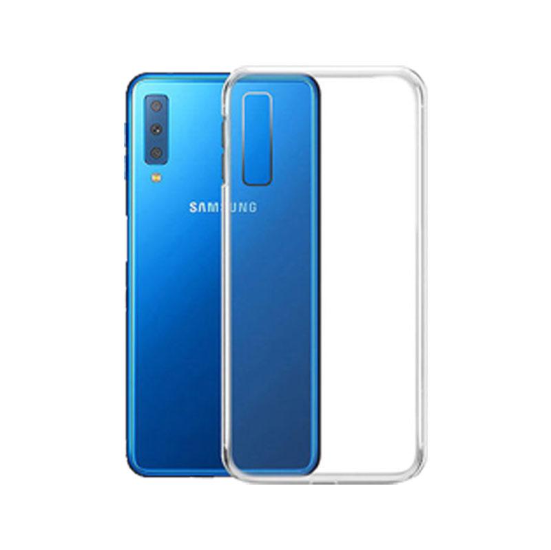 Θήκη Σιλικόνης Διάφανο Samsung Galaxy A7 2018 1