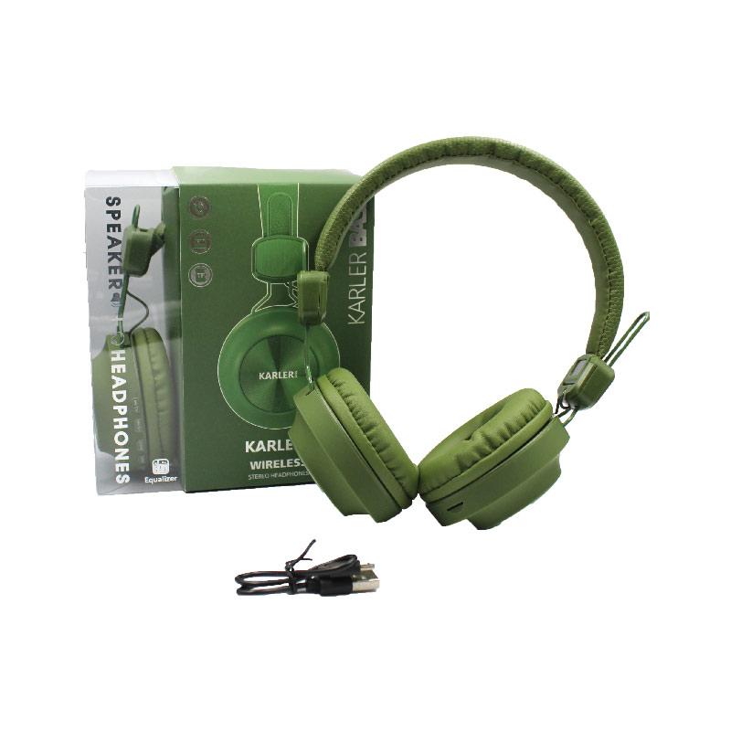 Karler Bass 008 ασύρματα ακουστικά πράσινο 2