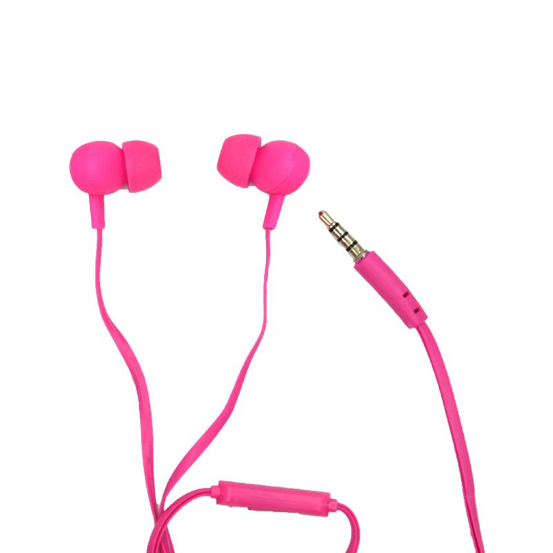 karler bass 203 ενσύρματα ακουστικά ροζ