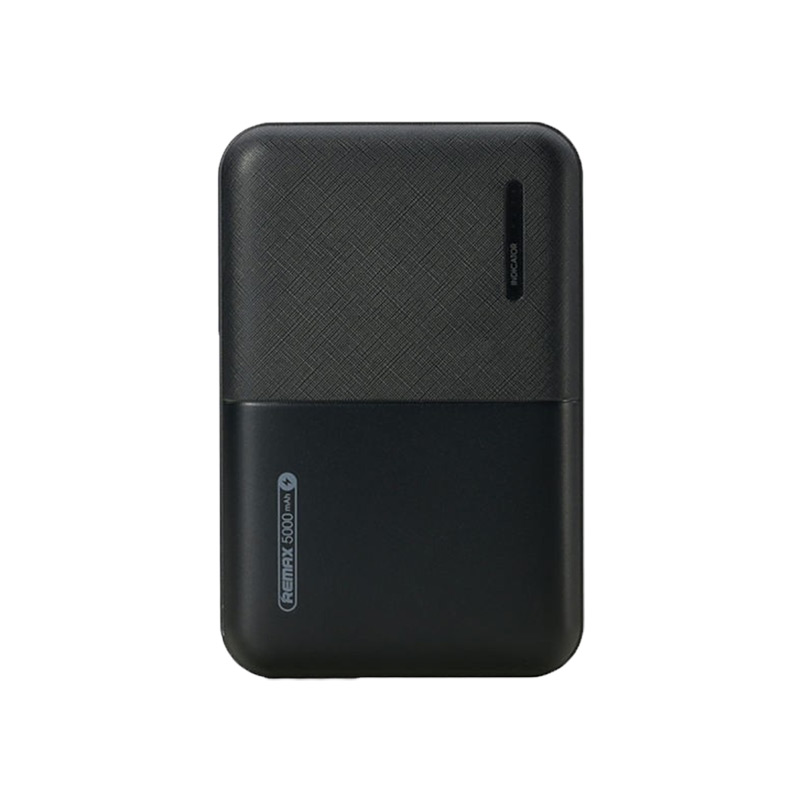 Remax Power Bank RPP-123 5000mAh Μαύρο