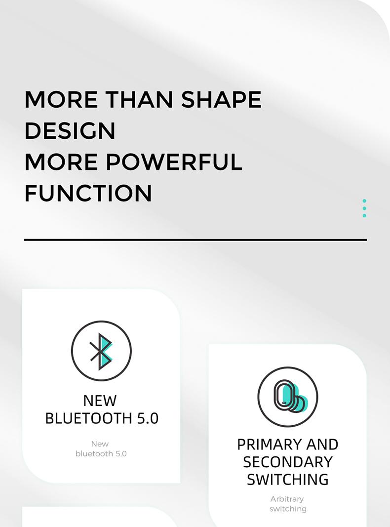 joyroom ασύρματα bluetooth ακουστικά JR-T08 διαφημιστικό