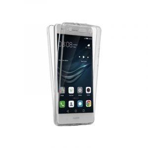 Θήκη 360 Full Cover Σιλικόνης Διάφανο Huawei P8 Lite