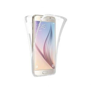 Θήκη 360 Full Cover Σιλικόνης Διάφανο Samsung Galaxy S6 Edge