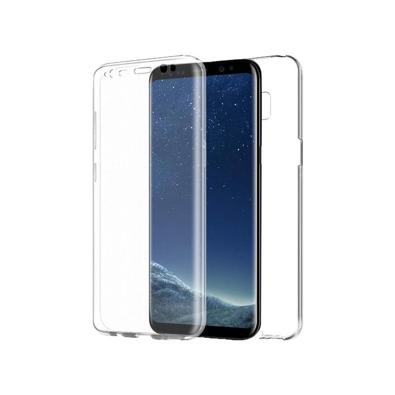 Θήκη 360 Full Cover Σιλικόνης Διάφανο Samsung Galaxy S8