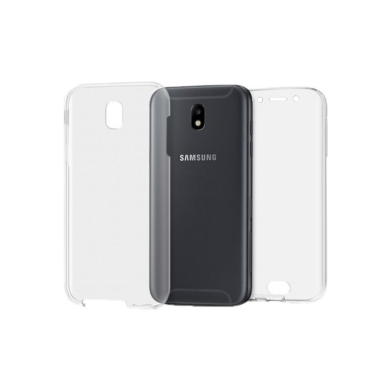 Θήκη 360 Full Cover Σιλικόνης Διάφανο Samsung Galaxy J5 2017