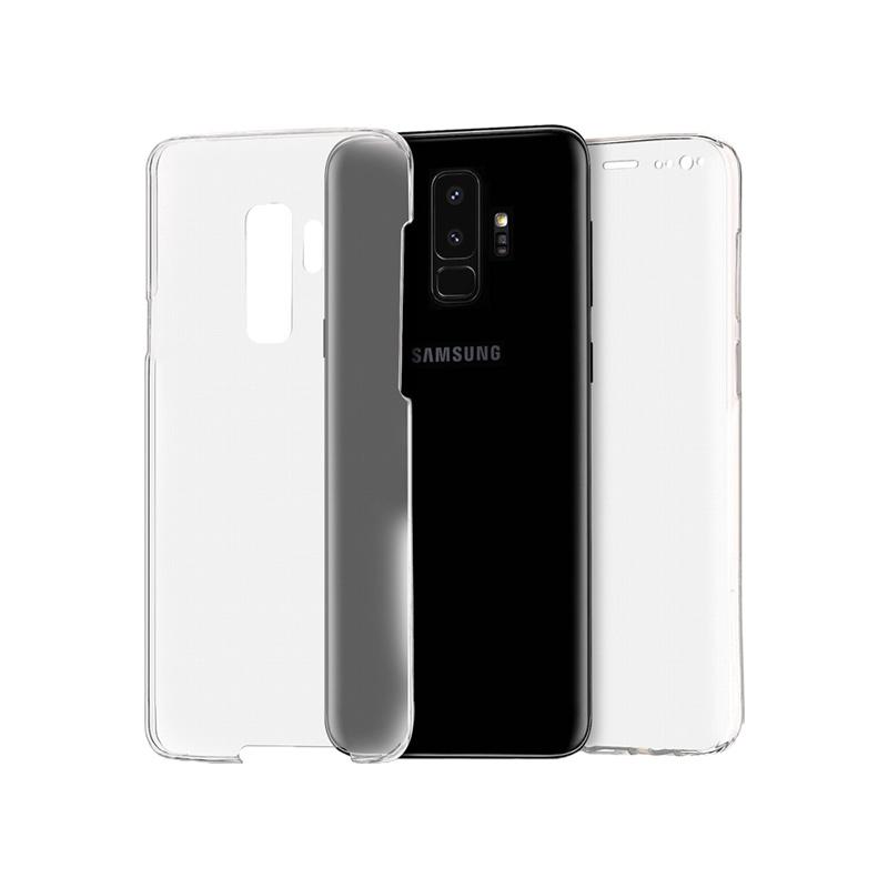 Θήκη 360 Full Cover Σιλικόνης Διάφανο Samsung Galaxy S9 Plus