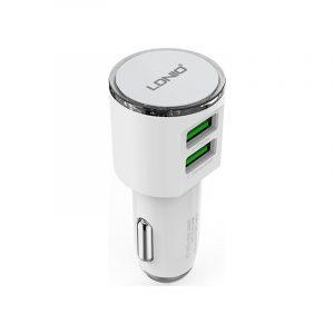 Φορτιστής Αυτοκινήτου LDNIO DL-C29 3.4Α με 2 Θύρες USB 12/24V και καλώδιο Micro USB