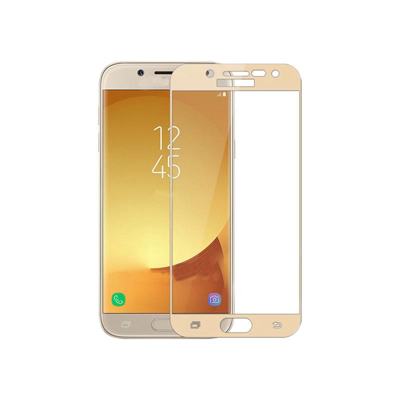 Προστασία οθόνης Full Face Tempered Glass 9H για Samsung Galaxy J3 2017 Χρυσό