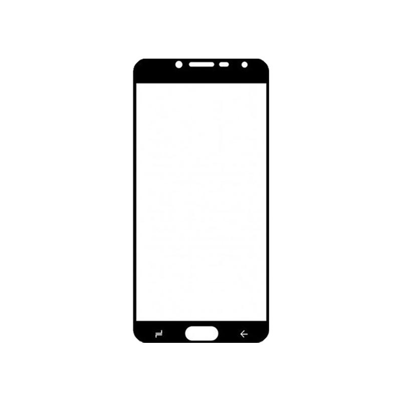 Προστασία οθόνης Full Face Tempered Glass 9H για Samsung Galaxy J4 Μαύρο
